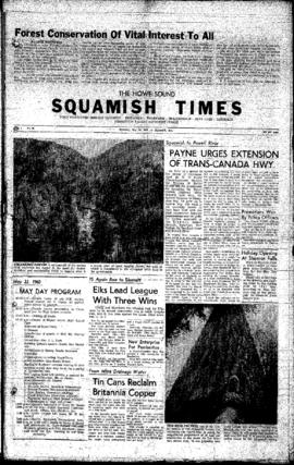 Squamish Times: Thursday, May 19, 1959