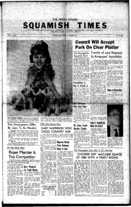 Squamish Times: Thursday, May 26, 1960