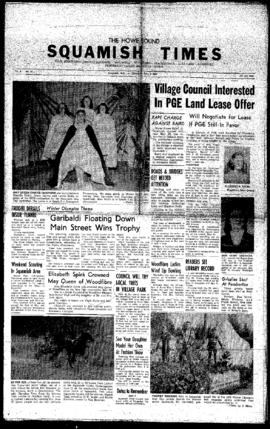 Squamish Times: Thursday, June 2, 1960
