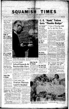 Squamish Times: Thursday, June 9, 1960