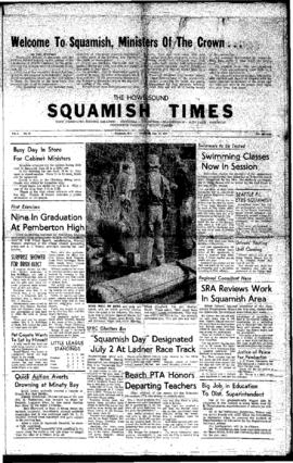 Squamish Times: Thursday, June 23, 1960