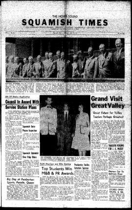Squamish Times: Thursday, June 30, 1960