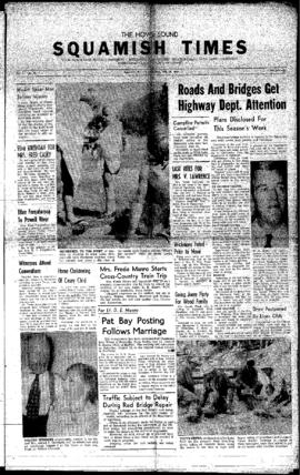 Squamish Times: Thursday, July 28, 1960