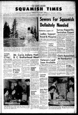 Squamish Times: Thursday, March 8, 1962