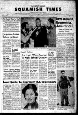 Squamish Times: Thursday, March 22, 1962