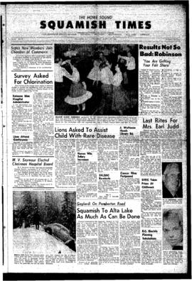 Squamish Times: Thursday, March 29, 1962