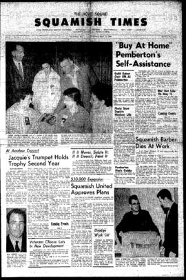 Squamish Times: Thursday, May 10, 1962