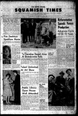 Squamish Times: Thursday, May 17, 1962