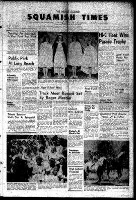 Squamish Times: Thursday, May 24, 1962