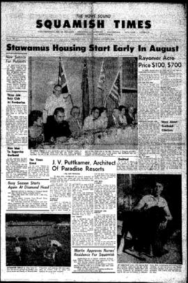 Squamish Times: Thursday, August 2, 1962