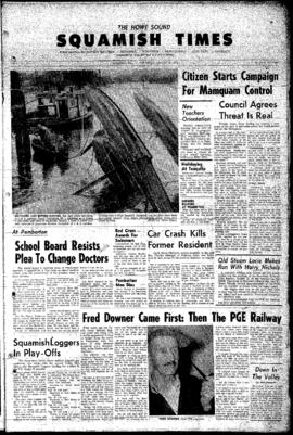 Squamish Times: Thursday, August 16, 1962
