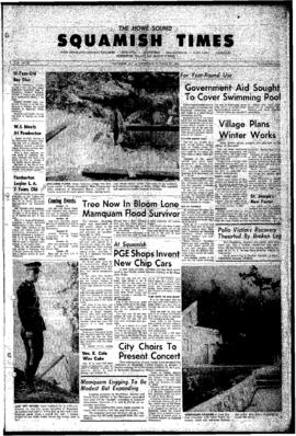 Squamish Times: Thursday, October 18, 1962
