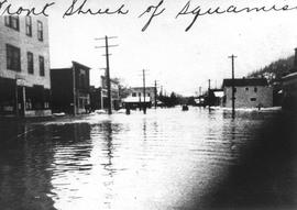 Cleveland Avenue during 1940 flood