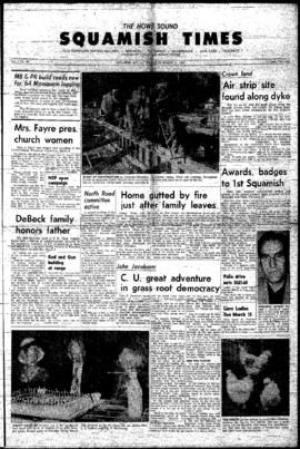 Squamish Times: Thursday, March 14, 1963