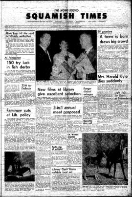 Squamish Times: Thursday, March 28, 1963