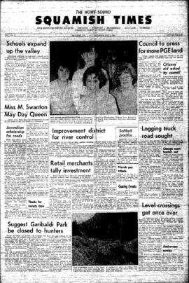 Squamish Times: Thursday, May 2, 1963