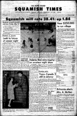 Squamish Times: Thursday, May 9, 1963