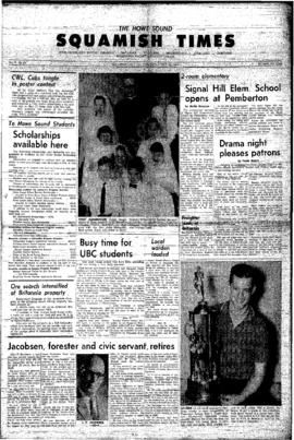 Squamish Times: Thursday, May 16, 1963