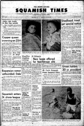 Squamish Times: Thursday, May 23, 1963
