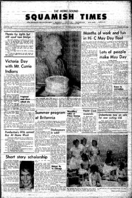 Squamish Times: Thursday, May 30, 1963