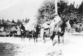George Munro on first horse