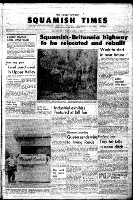 Squamish Times: Thursday, August 15, 1963