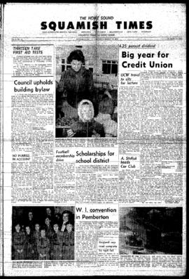 Squamish Times: Thursday, March 19, 1964