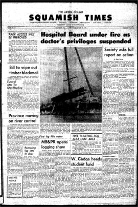 Squamish Times: Thursday, March 26, 1964