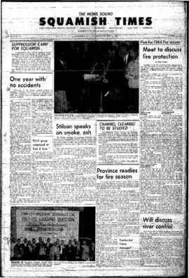 Squamish Times: Thursday, May 7, 1964