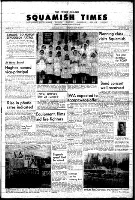Squamish Times: Thursday, May 28, 1964