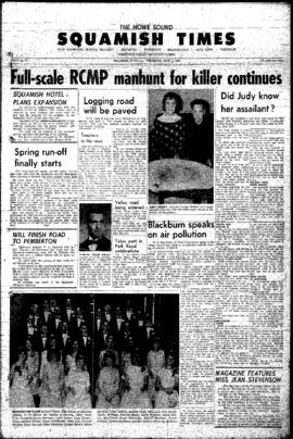 Squamish Times: Thursday, June 4, 1964