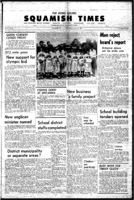 Squamish Times: Thursday, July 30, 1964
