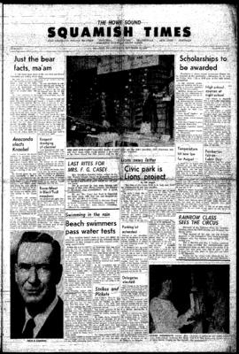 Squamish Times: Thursday, September 10, 1964