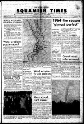 Squamish Times: Thursday, October 22, 1964