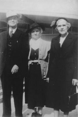 Edgar Rae, Minnie Armstrong, Edith Rae
