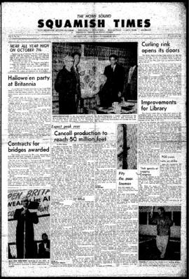 Squamish Times: Thursday, November 12, 1964
