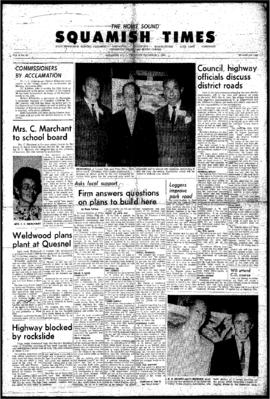 Squamish Times: Thursday, December 3, 1964