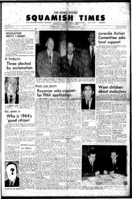 Squamish Times: Thursday, December 10, 1964