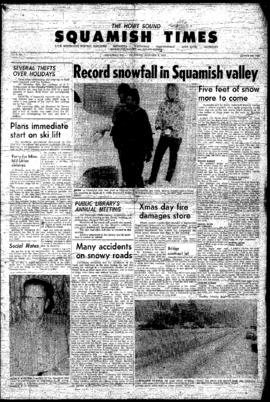 Squamish Times: Thursday, January 7, 1965