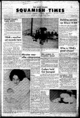 Squamish Times: Thursday, January 14, 1965