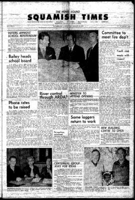 Squamish Times: Thursday, January 21, 1965