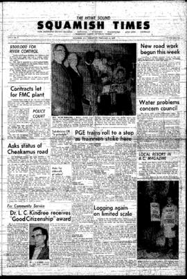 Squamish Times: Thursday, February 11, 1965