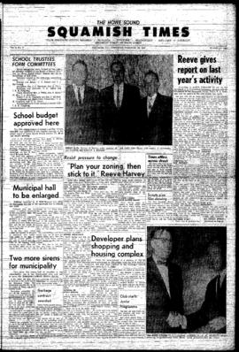 Squamish Times: Thursday, February 18, 1965