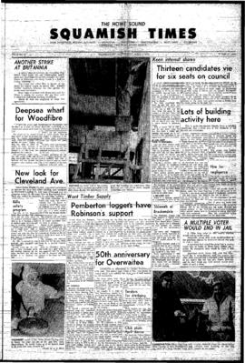 Squamish Times: Thursday, April 1, 1965