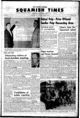Squamish Times: Thursday, March 25, 1965