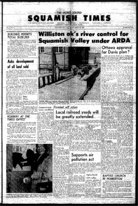 Squamish Times: Thursday, March 18, 1965