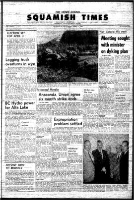 Squamish Times: Thursday, March 11, 1965