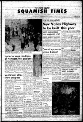Squamish Times: Thursday, February 25, 1965