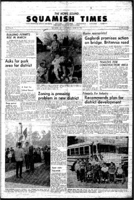 Squamish Times: Thursday, April 22, 1965