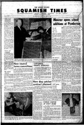 Squamish Times: Thursday, April 15, 1965
